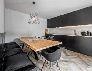 Luxurious kitchen holiday home Texel